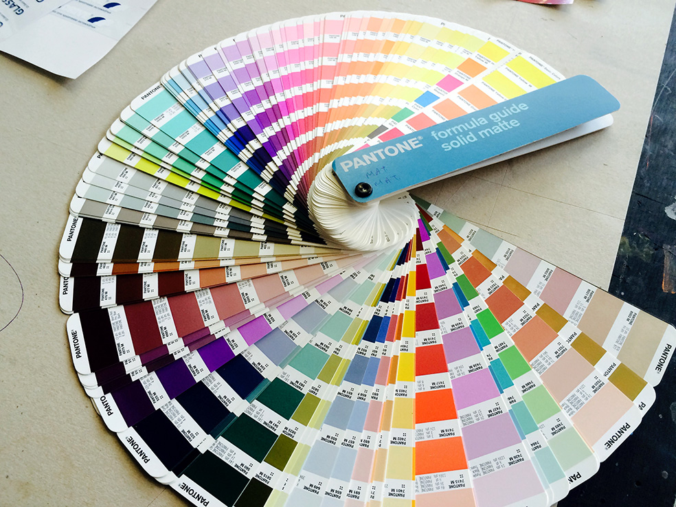 screen printing Pantone matching system